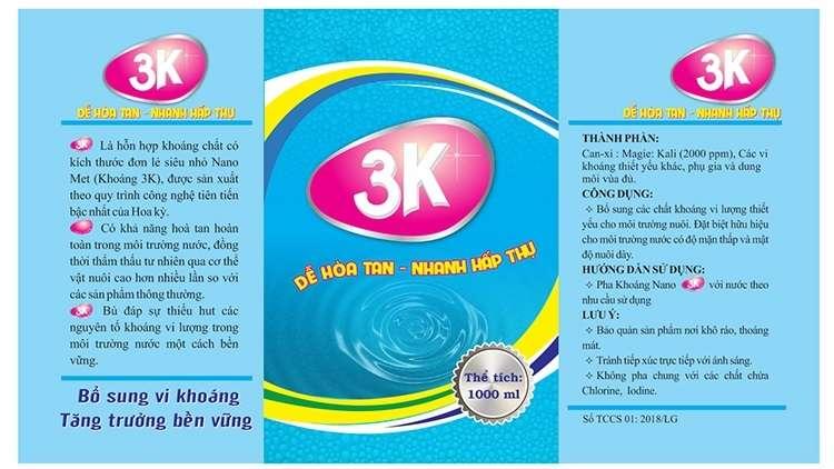 Khoáng nano 3K: